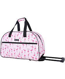 Betsey Johnson Wheeled Duffel