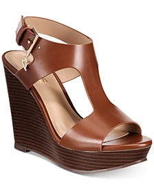 Valleri Wedge Sandals, Created for Macy's