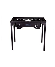 Outdoor Stove With Stand - Two Burners