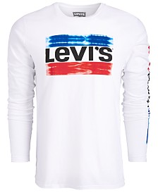 Levi's® Men's Long-Sleeve Logo T-Shirt