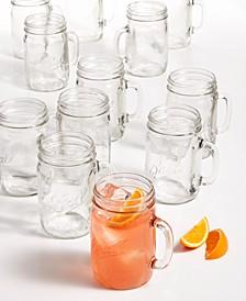 24-Oz. Drinking Jars, Set of 12