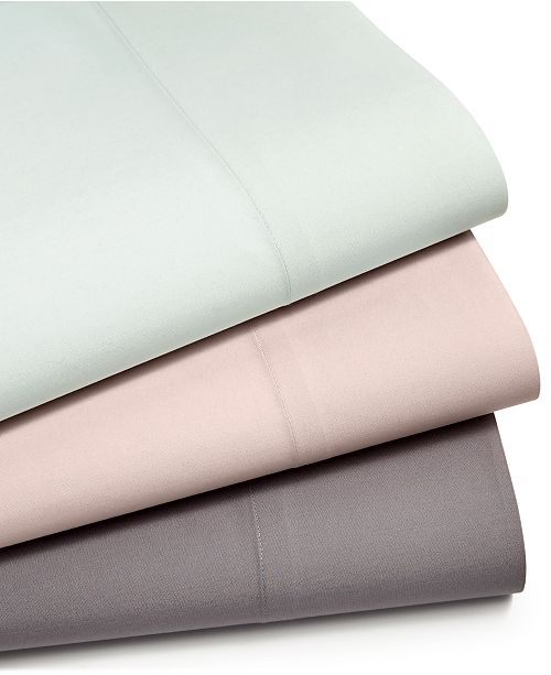 Martha Stewart Collection CLOSEOUT! Cotton Blend Sheet Set, Created for Macy's
