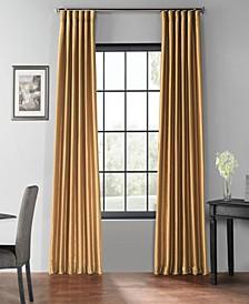 "Blackout Vintage Textured 50"" x 108"" Curtain Panel"