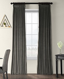 "Signature Extra Wide Blackout Velvet 100"" x 84"" Curtain Panel"