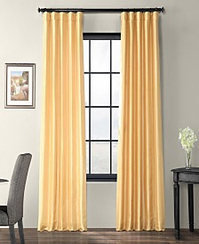 "Exclusive Fabrics & Furnishings Taffeta 50"" x 96"" Curtain Panel"