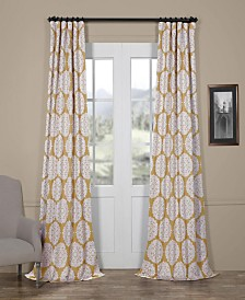 "Exclusive Fabrics & Furnishings Meridian Blackout 50"" x 96"" Curtain Panel"