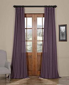 """Semi Sheer 50"""" x 84"""" Curtain Panel"""