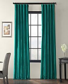 "Exclusive Fabrics & Furnishings Taffeta 50"" x 84"" Curtain Panel"