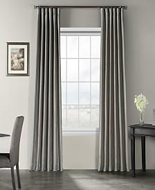 "Exclusive Fabrics & Furnishings Vintage Textured 50"" x 120"" Curtain Panel"