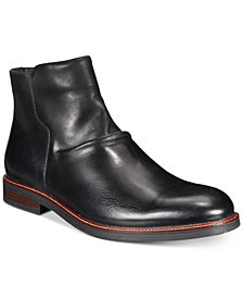 Alfani Arlen Leather Boots, Created for Macy's