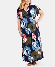 Plus Size Nursing Maxi Dress