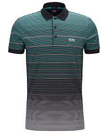 BOSS Men's Paddy 3 Regular-Fit Cotton Jersey Polo Shirt