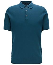 BOSS Men's T-Janmarco Knitted Polo Shirt
