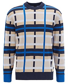 BOSS Men's Jurri Knitted Sweater