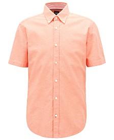 BOSS Men's Roddy_2 Slim-Fit Short-Sleeved Shirt