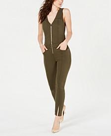Mara Zip-Front Jumpsuit