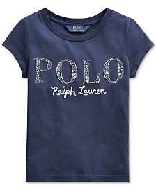 Polo Ralph Lauren Toddler Girls Logo T-Shirt