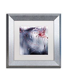 "Beata Czyzowska Young 'One Day I'll Find You' Matted Framed Art - 11"" x 11"""