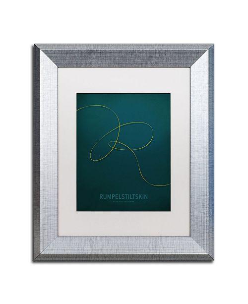 """Trademark Global Christian Jackson 'Rumpelstiltskin' Matted Framed Art - 11"""" x 14"""""""