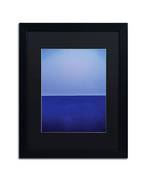 "Trademark Global Claire Doherty 'Silence' Matted Framed Art - 16"" x 20"""