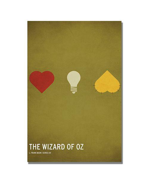 "Trademark Global Christian Jackson 'Wizard of Oz' Canvas Art - 32"" x 22"""