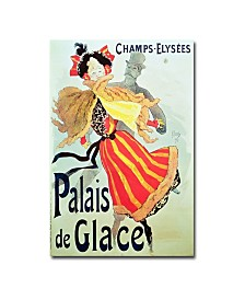 "Jules Cheret 'Ice Palace Champs Elysees 1893' Art - 32"" x 22"""