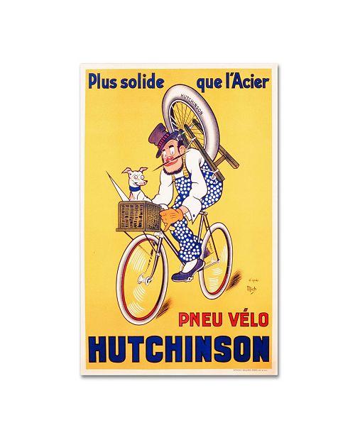 "Trademark Global Mitch Liebeaux 'Hutchinson Tires 1937' Canvas Art - 32"" x 22"""