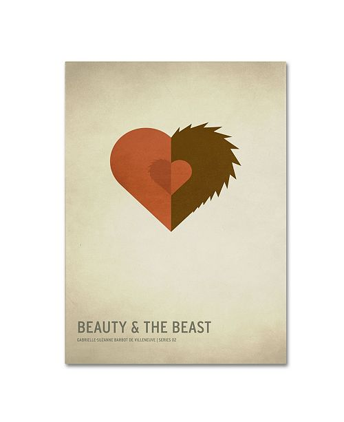 "Trademark Global Christian Jackson 'Beauty and the Beast' Canvas Art - 24"" x 16"""