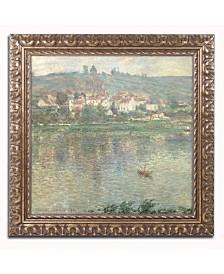 """Claude Monet 'Vetheuil 1901' Ornate Framed Art - 20"""" x 16"""""""