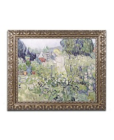 "Vincent van Gogh 'Mademoiselle Gachet' Ornate Framed Art - 16"" x 20"""