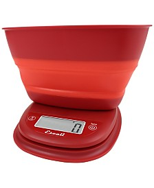 Escali Corp Pop Collapsible Bowl Scale