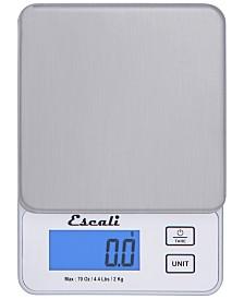 Escali Corp Vera Compact Digital Scale, 4.4lb