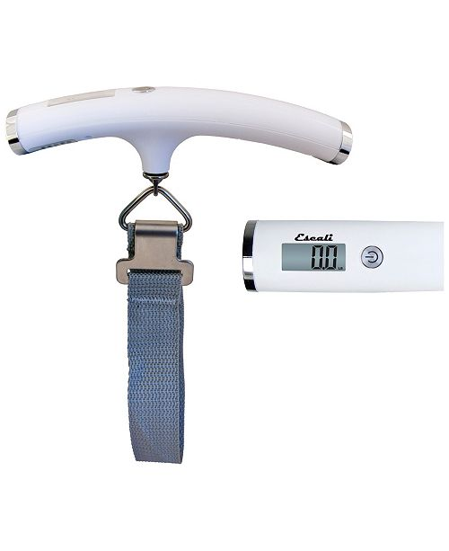 Escali Corp Velo Luggage/Travel Scale, 110lb