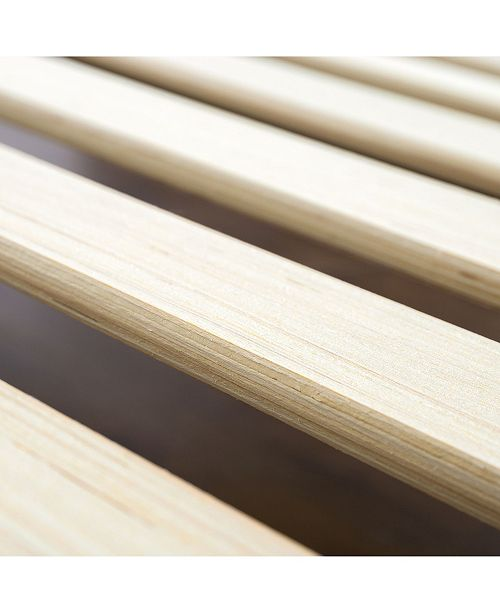 Zinus Alexia 12 Quot Wood Platform Bed With Headboard Rustic