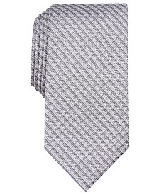 Perry Ellis Men's Bluefield Classic Grid Tie