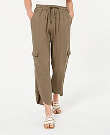 Juniors' Tulip-Hem Cargo Pants, Created for Macy's