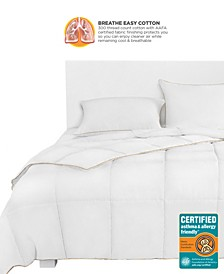 Breathewell Certified Asthma & Allergy Friendly King Comforter