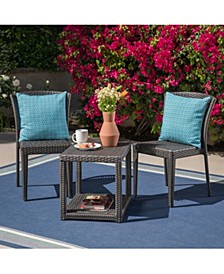 Avery Outdoor 3pc Chat Set