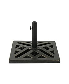 Tally Outdoor Umbrella Base, Quick Ship