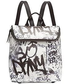 Tilly Graffiti Logo Backpack, Created for Macy's