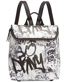 DKNY Tilly Graffiti Backpack, Created for Macy's