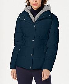 Hoodie Puffer Coat