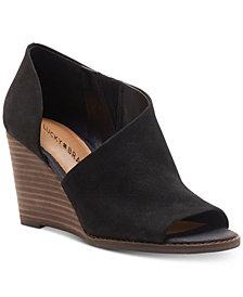 Lucky Brand Women's Jaxy Wedge Sandals
