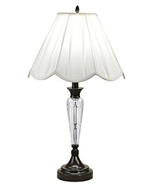Idoya 24% Lead Hand Cut Crystal Table Lamp