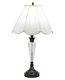 Dale Tiffany Idoya 24% Lead Hand Cut Crystal Table Lamp