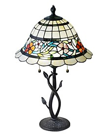 Anani Floral Tiffany Table Lamp