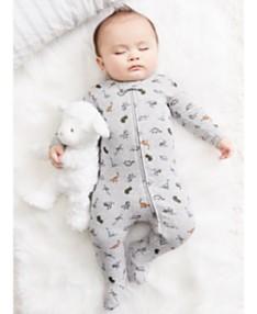 4dec89663 Carter's Baby Boys 1-Pc. Dinosaur-Print Footed Pajama
