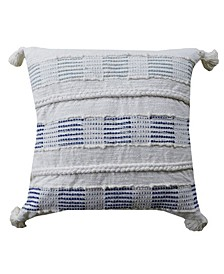 "Decorative Throw Pillow 22"" x 22"" for Couch Handloom Woven"
