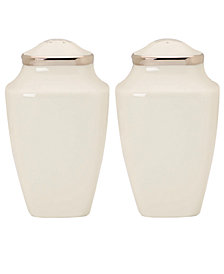 Lenox Dinnerware, Solitaire Square Salt and Pepper Shakers
