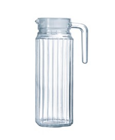 Luminarc Quadro Jug with White Lid